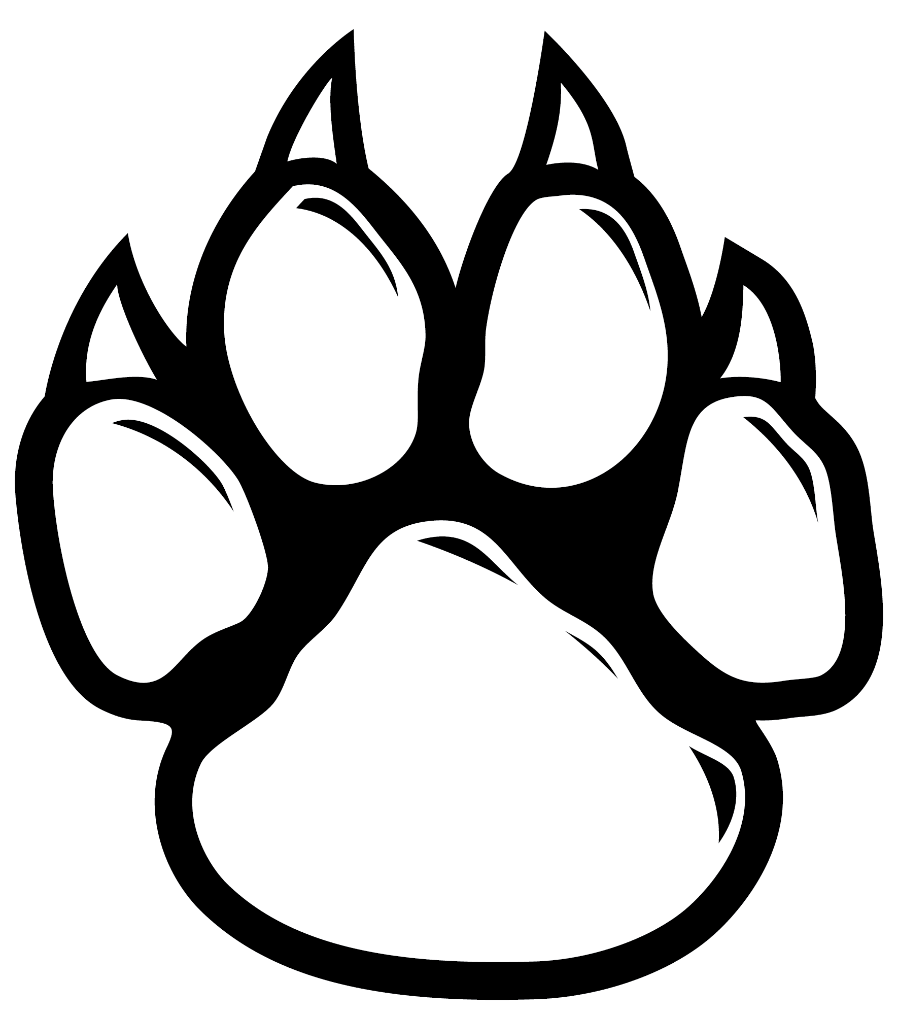 Wildcats drawing at getdrawings. Husky clipart bobcat