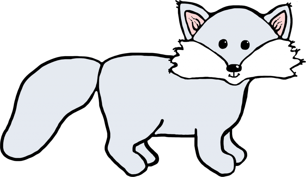 Wolves clipart polar fox. Head arctic wolf pencil