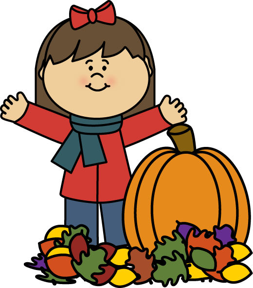 Fall clip art images. Tree clipart october