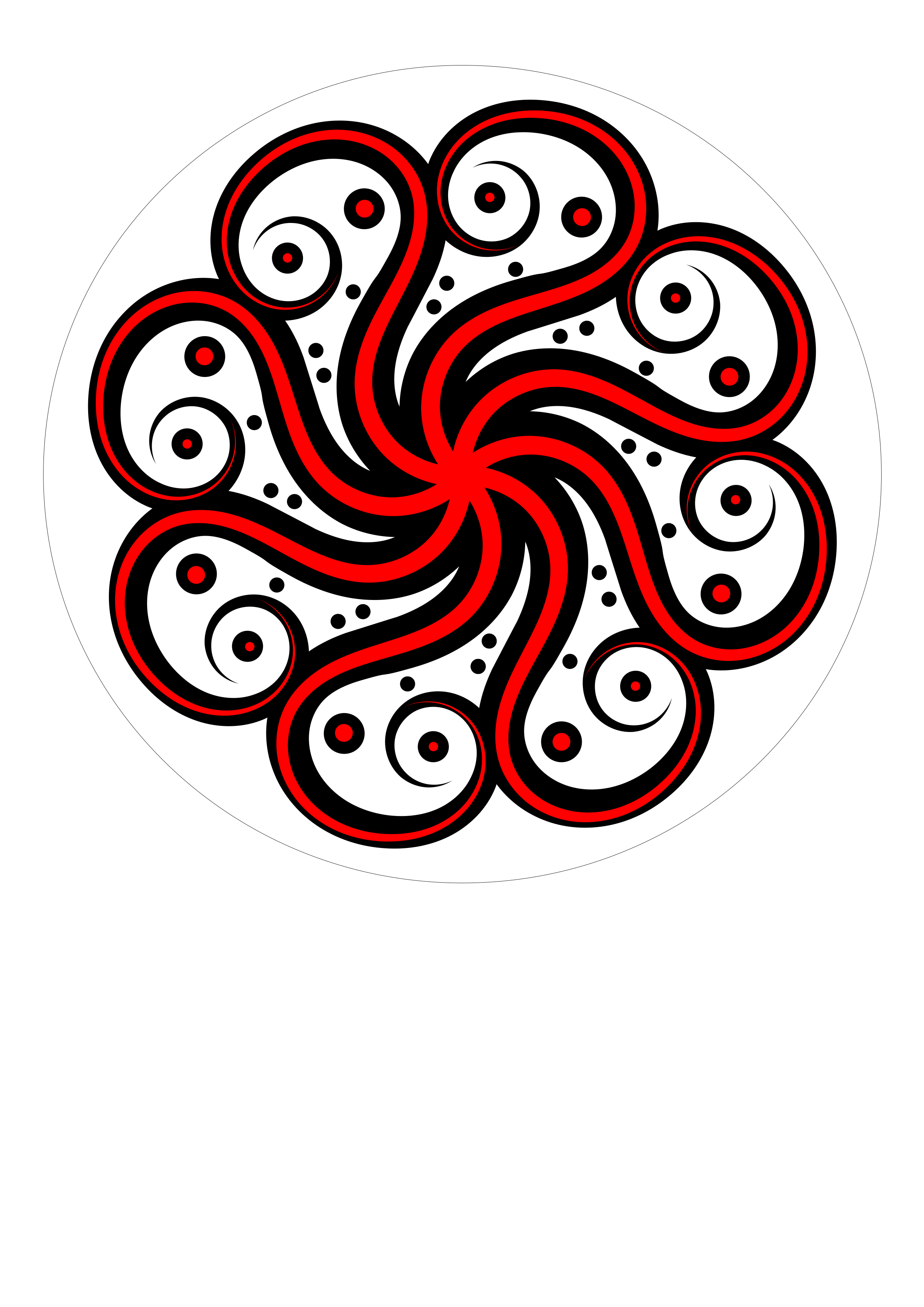 Clipart octopus clipart red. Black abstract big image