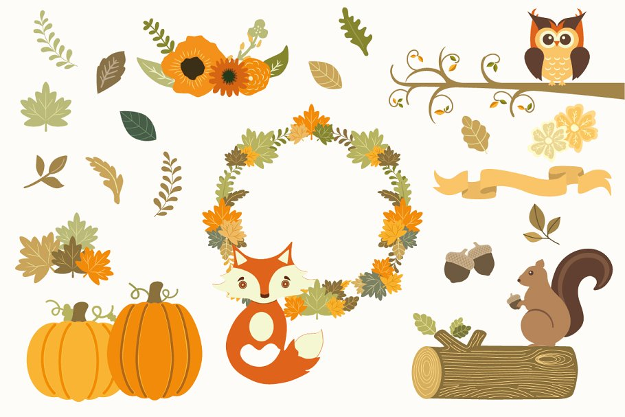 Clipart fall autumm. Autumn