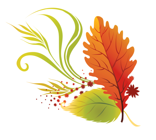 Clipart halloween leaves. Transparent fall png picture