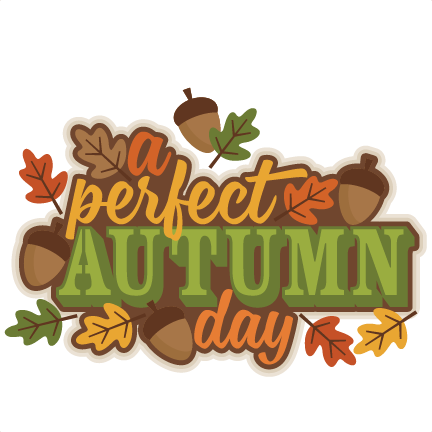 A perfect title svg. Clipart fall autumn day