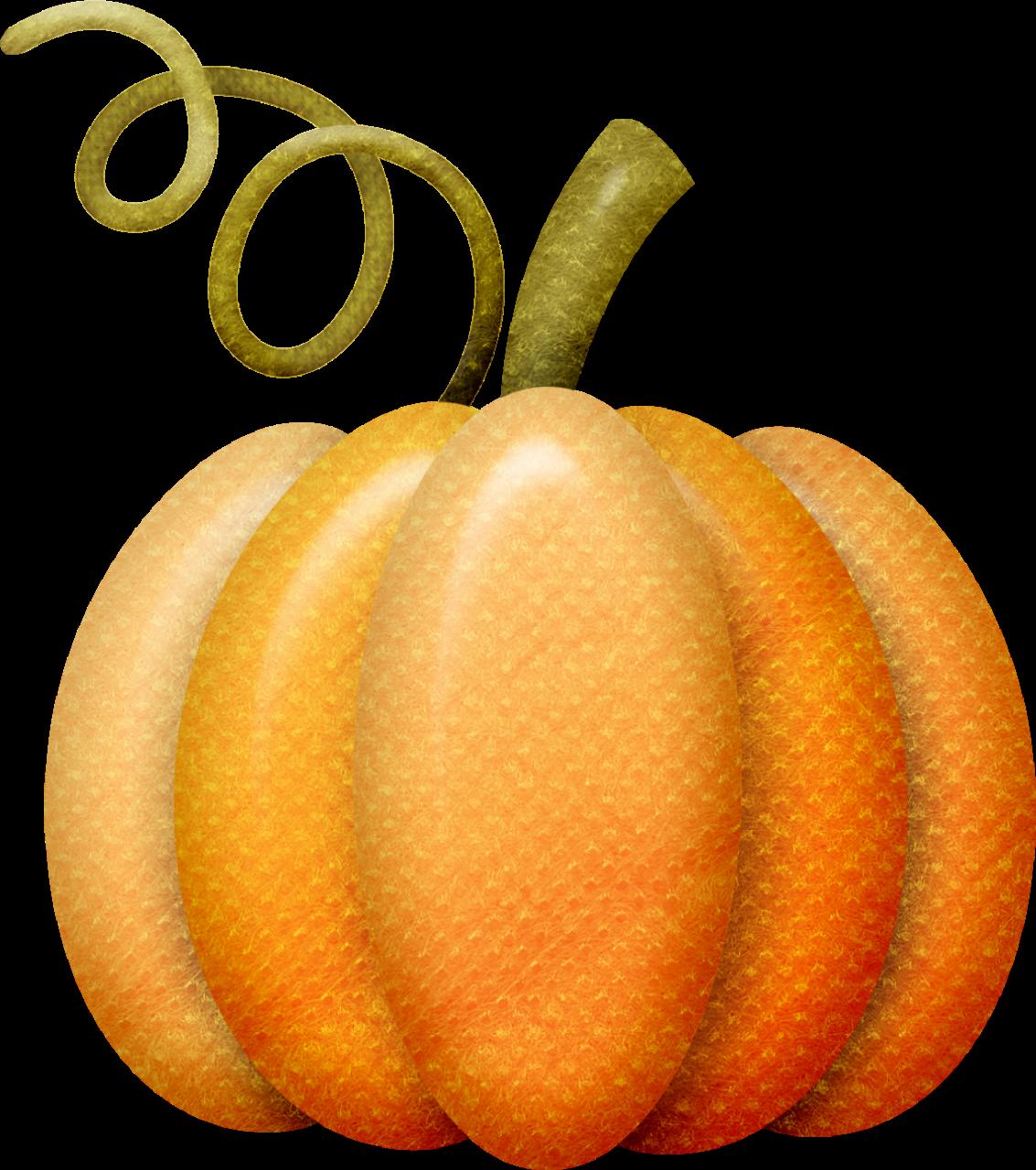 Autumn fall clip art. Pumpkin clipart filigree