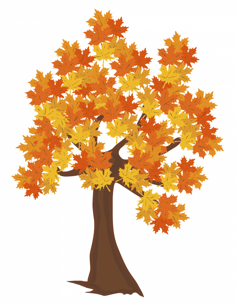 Clipart fall autumn tree. Jokingart com