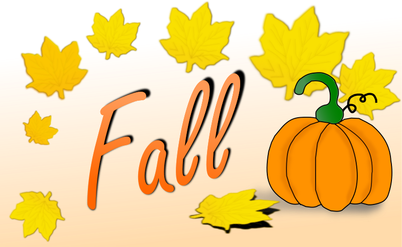 Fall cartoon. Clipart transparent free for