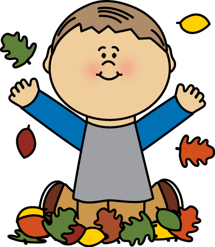 Clip art images . Clipart fall child
