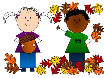 Clipart fall child. Kids clip art by