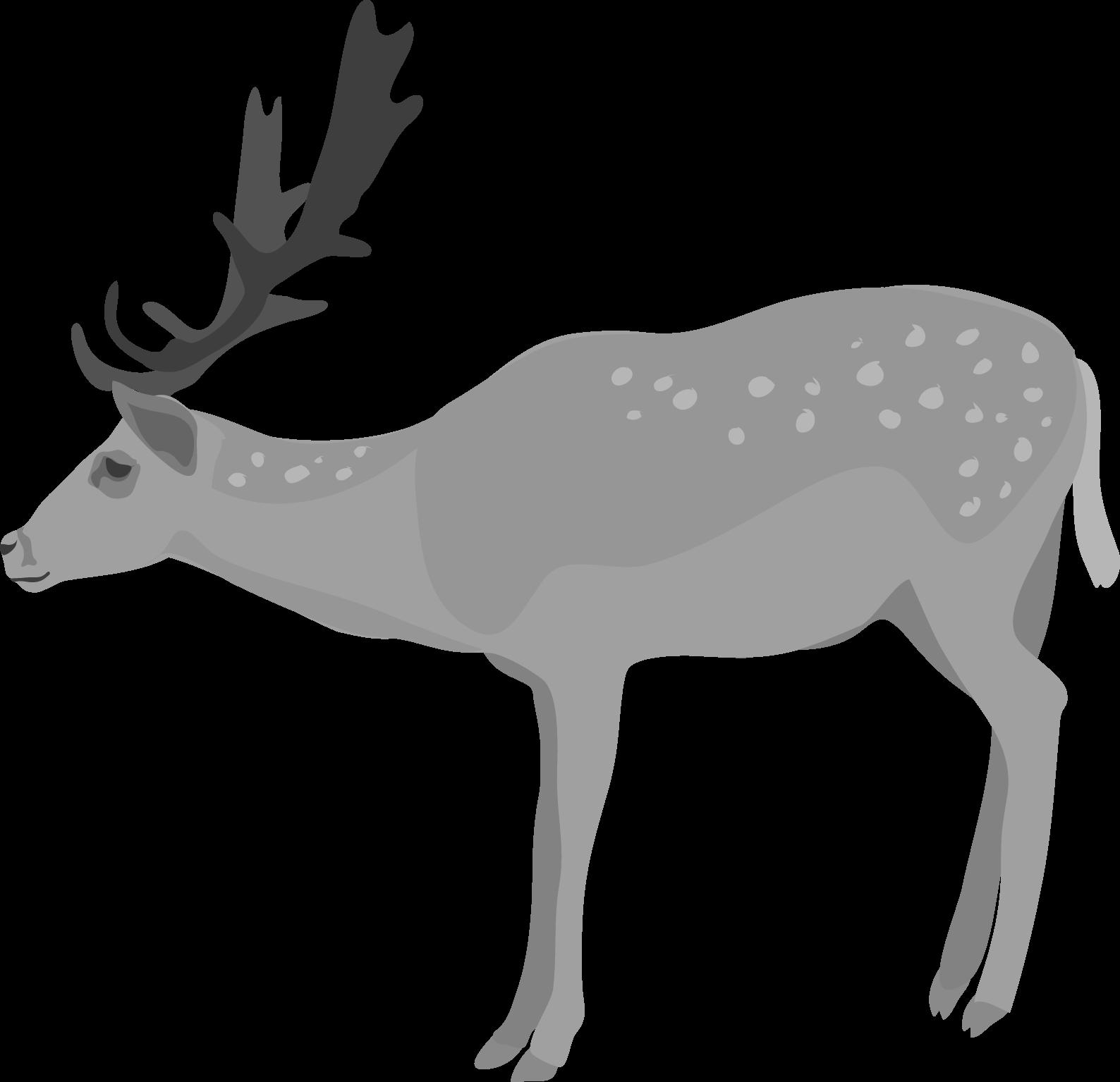 Clipart fall deer. Cute clipartblack com animal