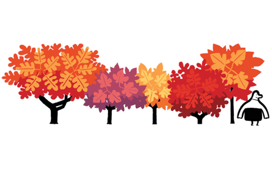First day of autumn. Clipart fall fall equinox