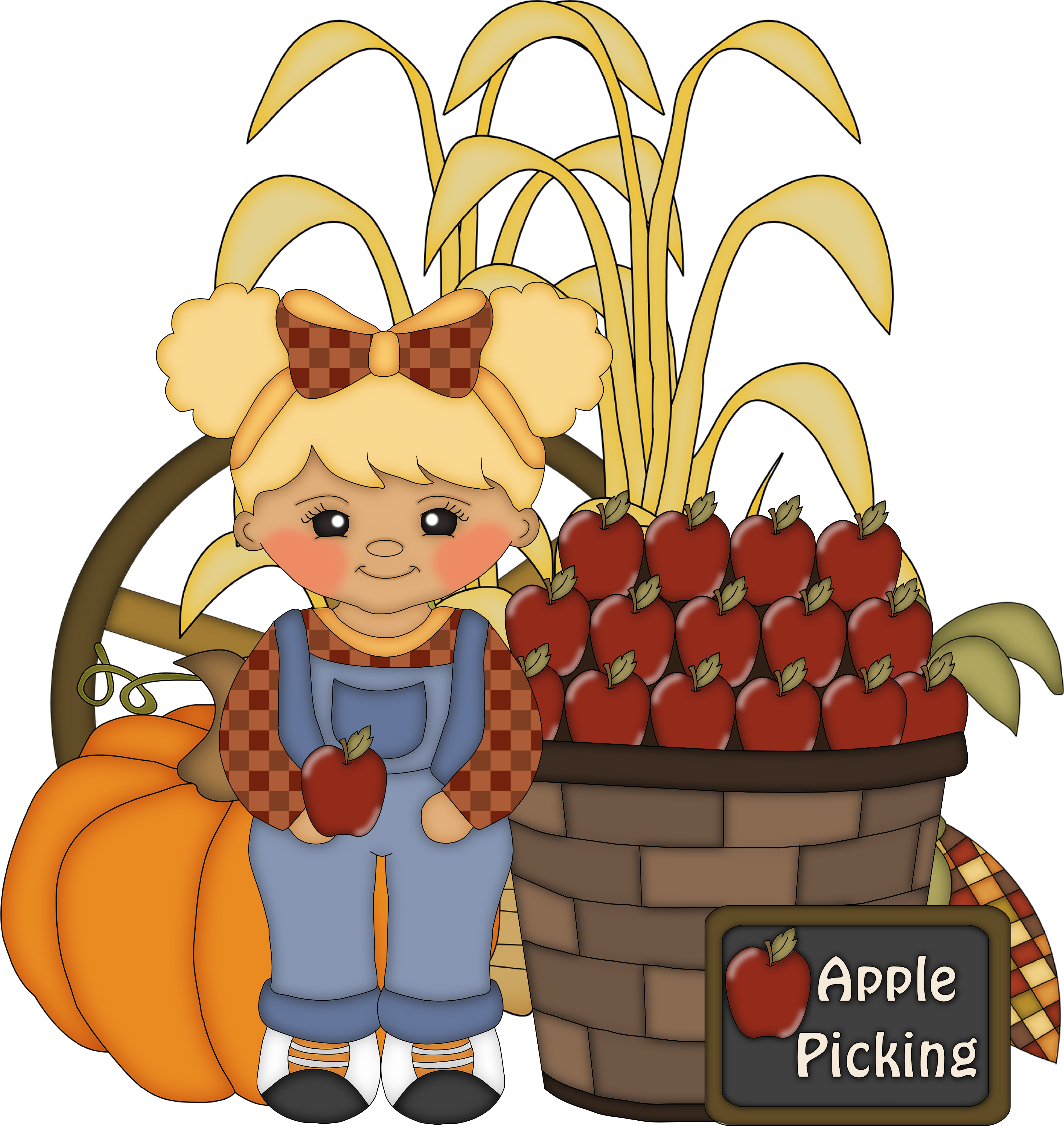 Scarecrow clipart fun. Magazine for homeschooled kids