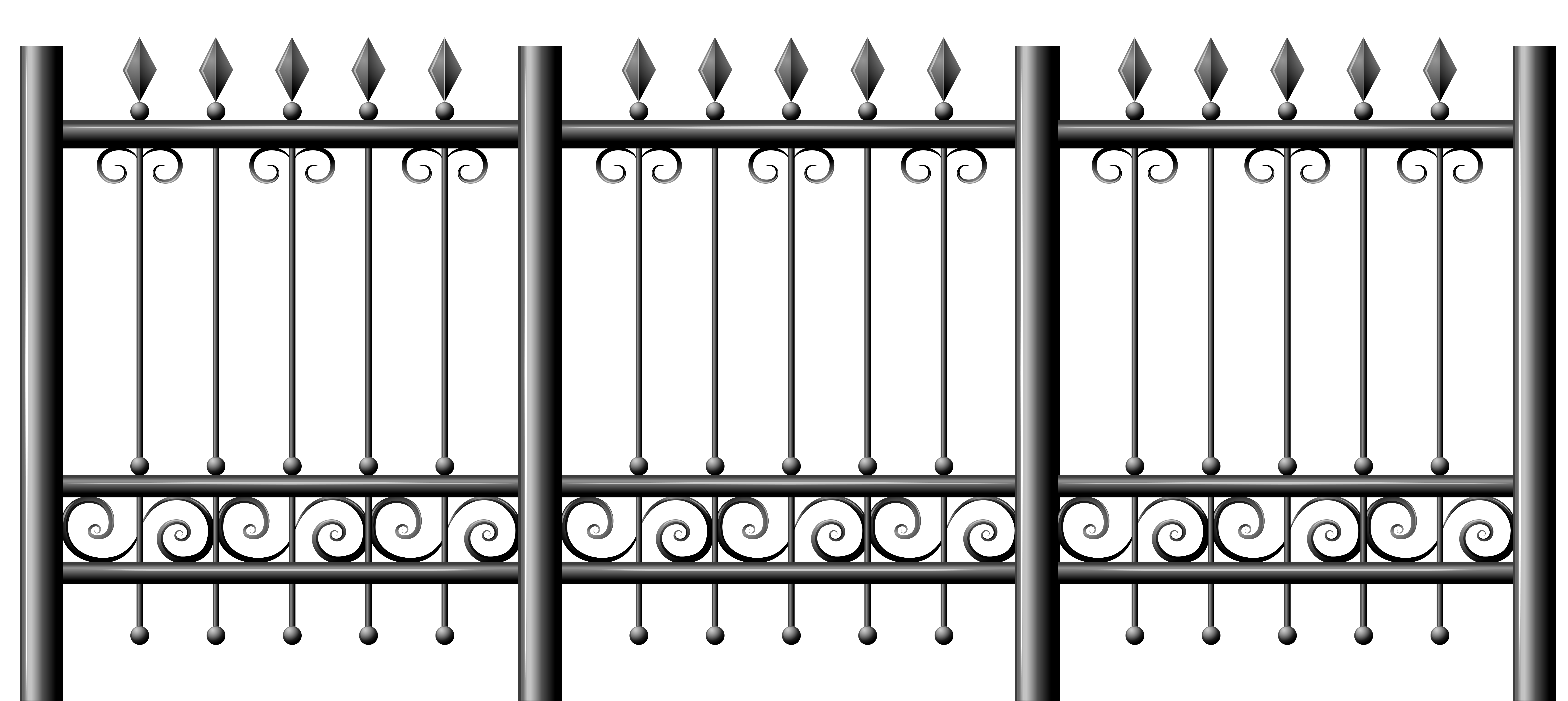Transparent iron png gallery. Clipart halloween fence