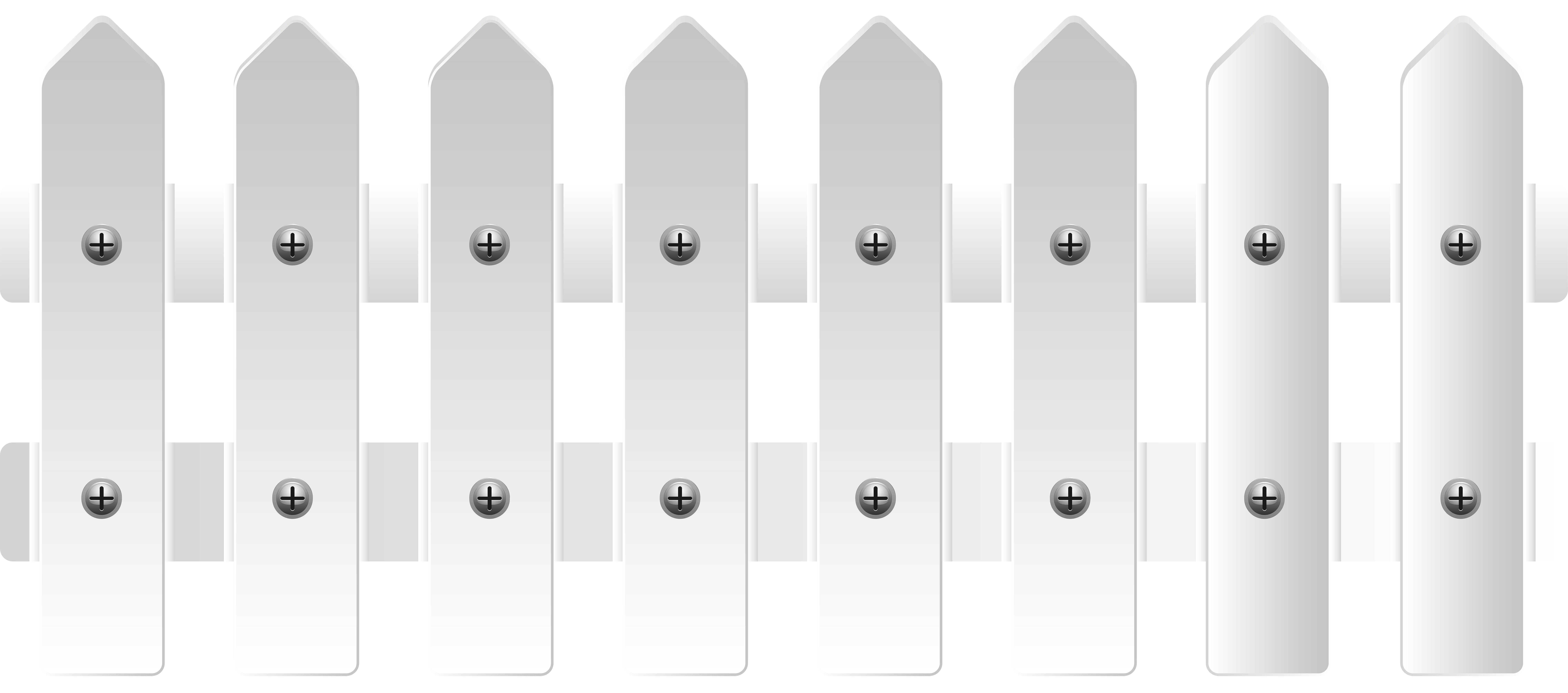 White png transparent clip. Clipart fall fence