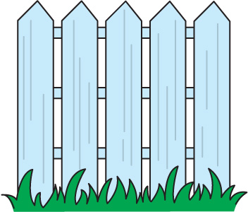 Fencing clipart tall fence. Free cliparts download clip