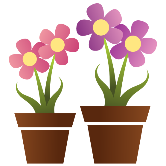 Pot encode to base. Clipart fall flower