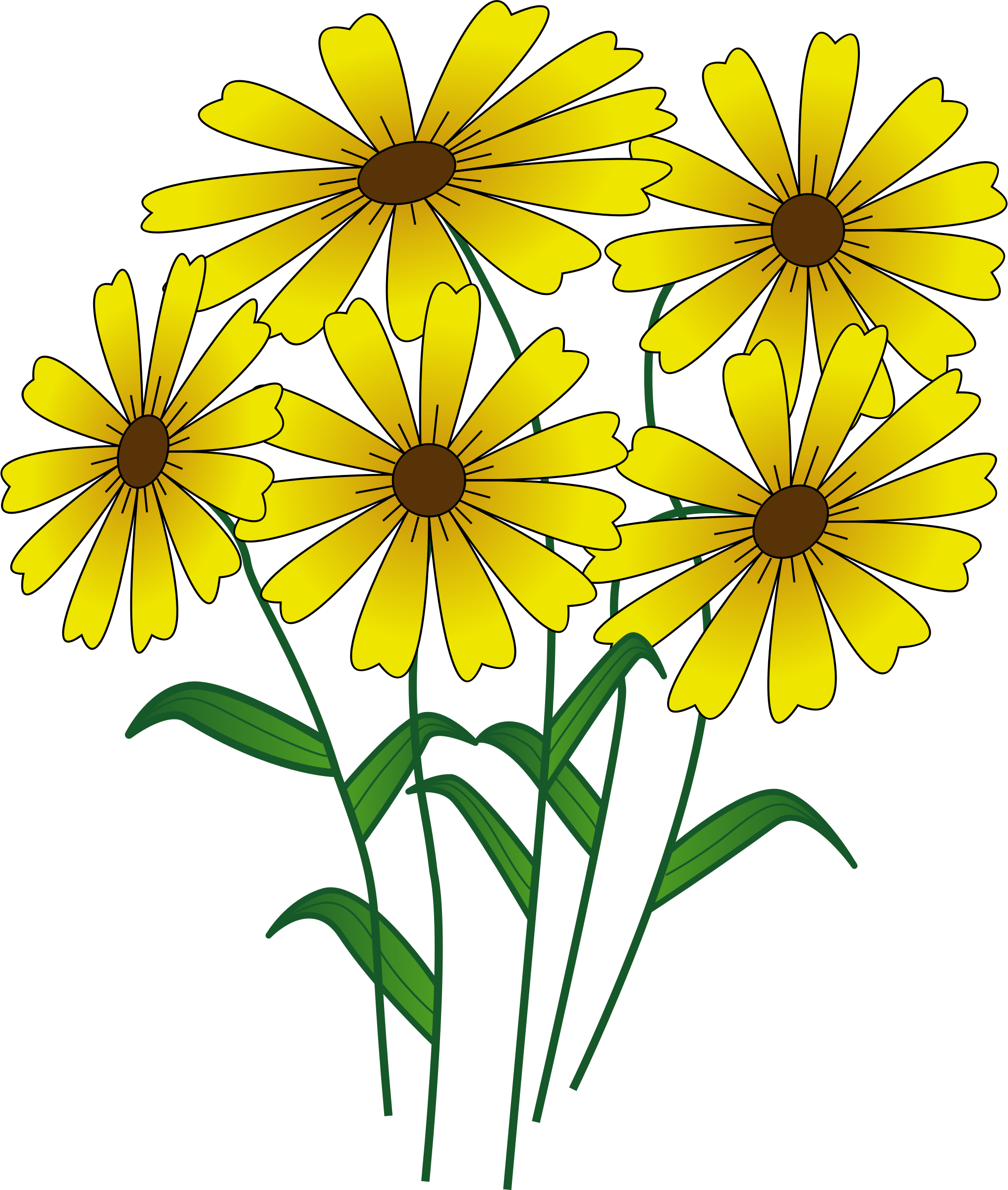 Flowers big image png. Clipart fall flower