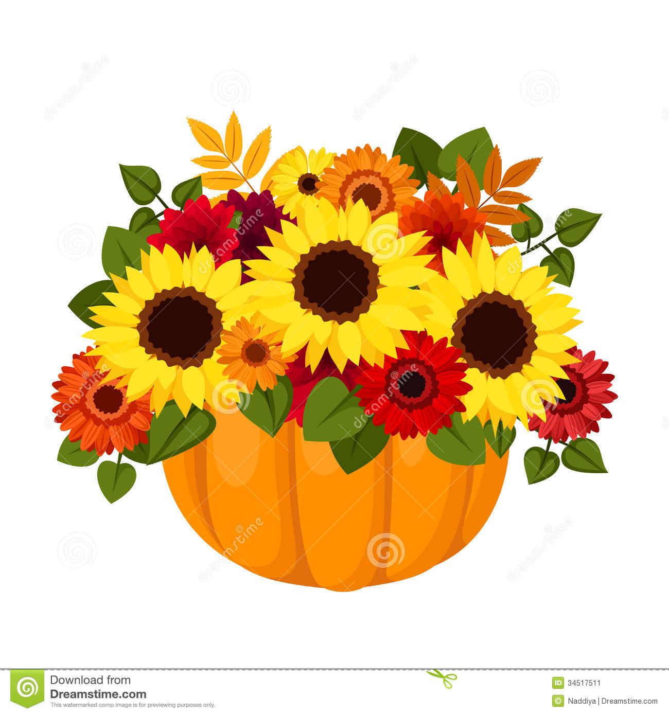 flowers clip art. Clipart fall flower