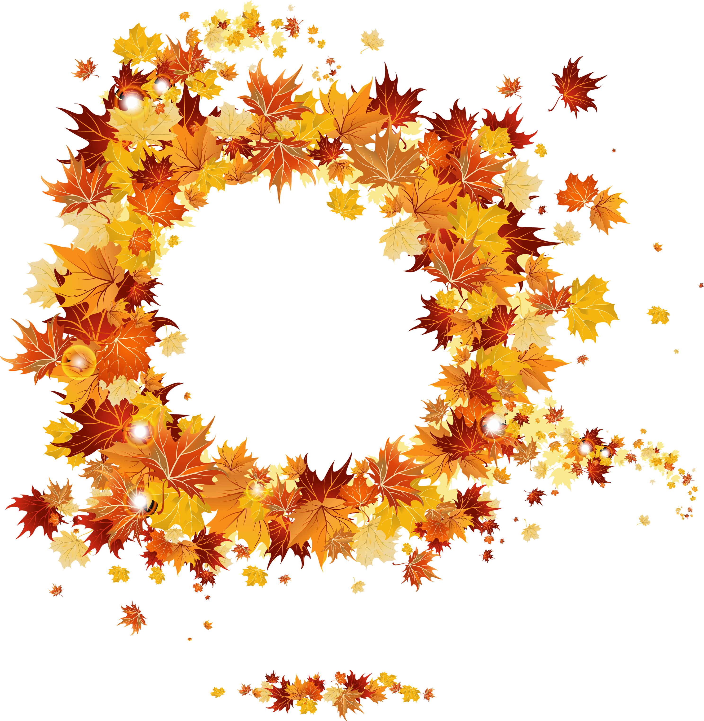 Round vector gallery yopriceville. Fall frame png