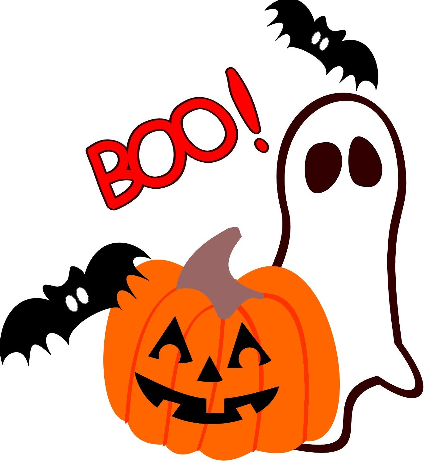 Clipart halloween day. Free cute images