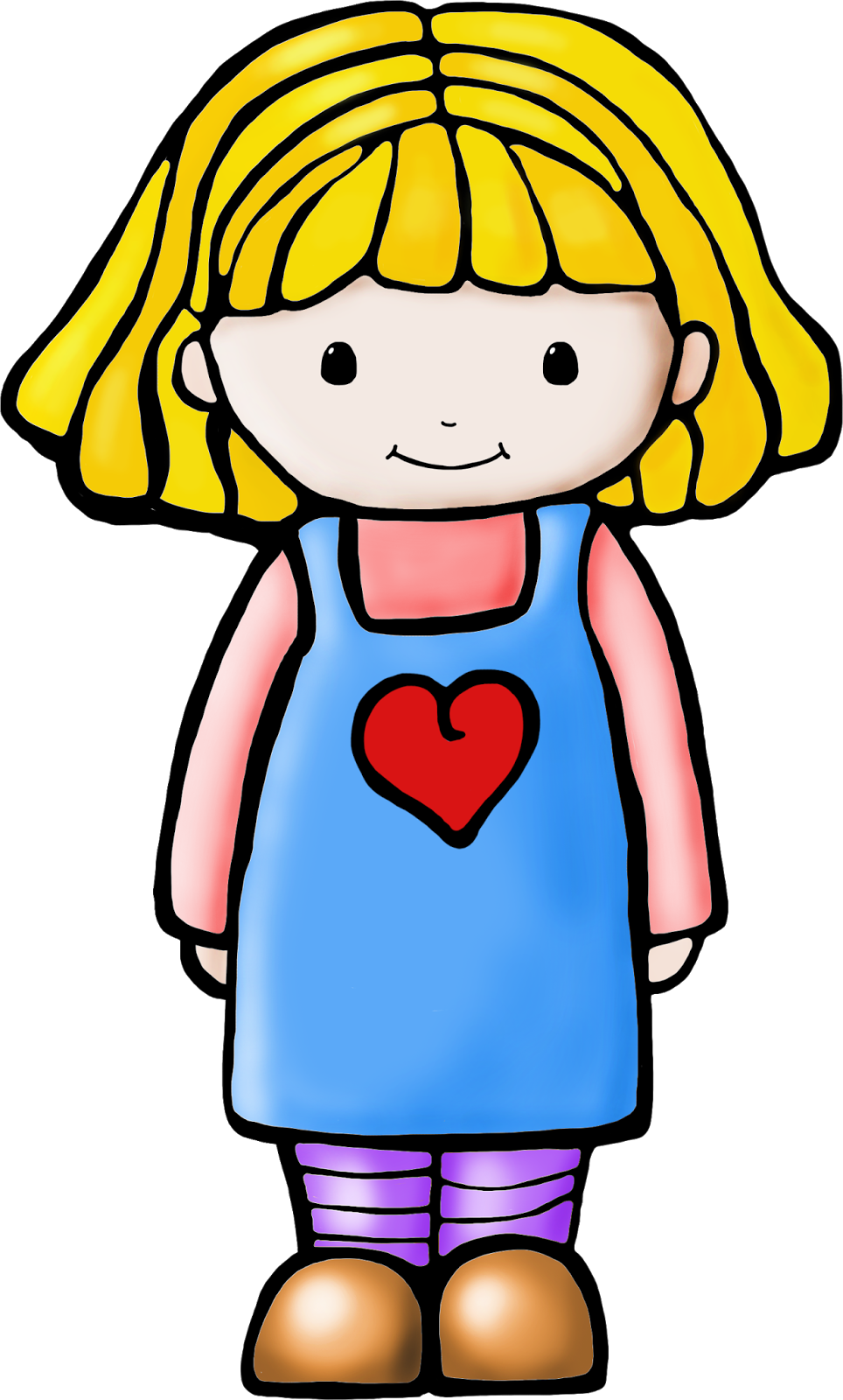 Lady clipart clown. Fish and bees kindergarten