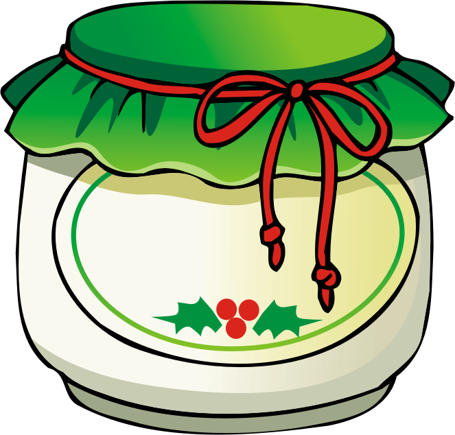 Jelly clipart jar lid. Image of mason clip