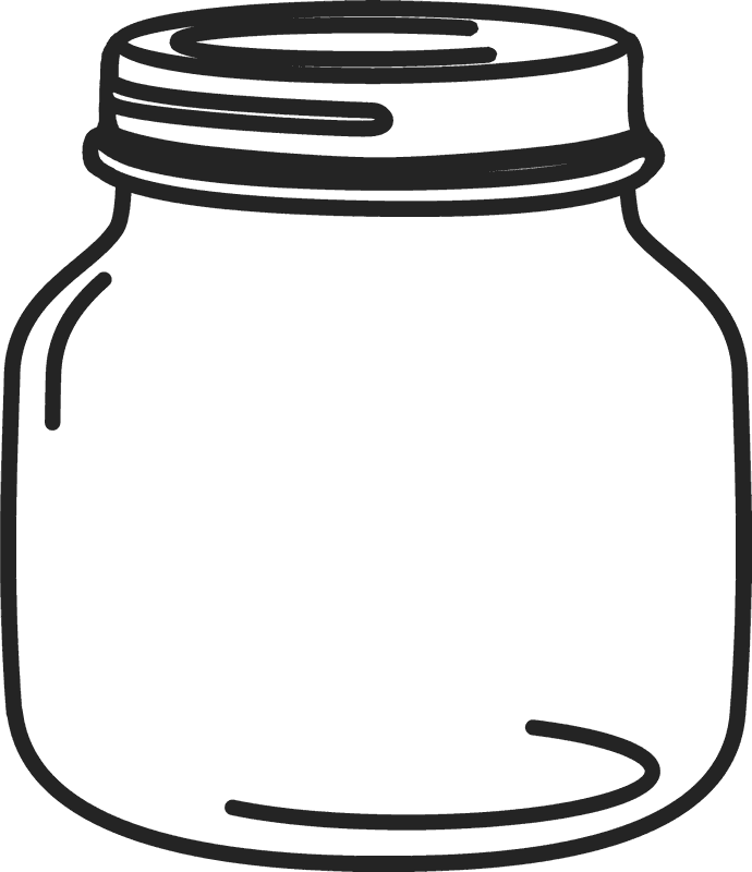 Red clipart mason jar. Petite rubber stamp stamps