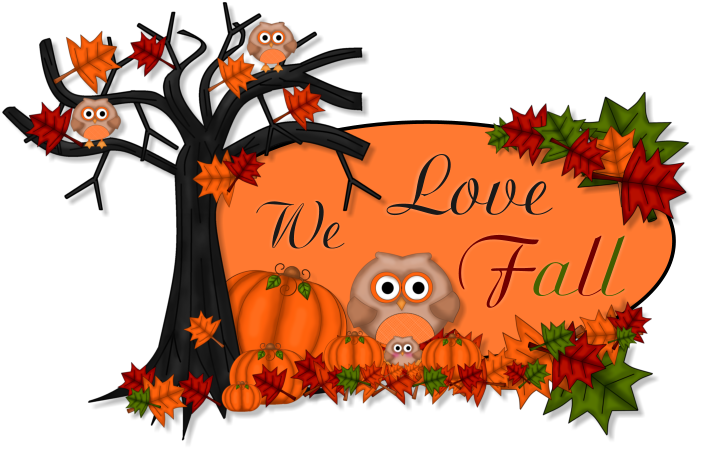 Clipart fall october. Sunnybrook condominiums news letter