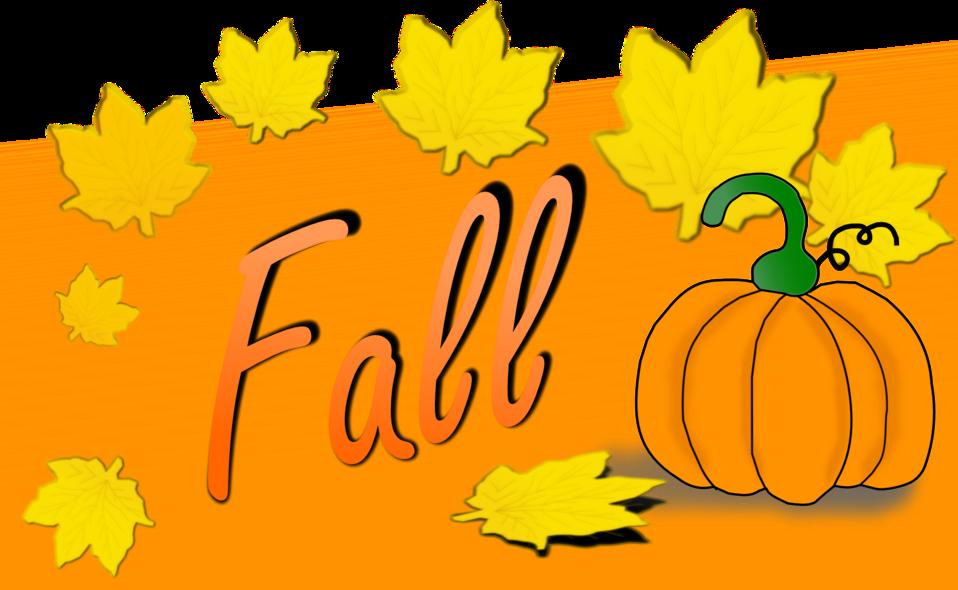 Public domain clip art. Clipart fall october