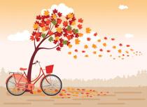 Free seasonal clip art. Park clipart fall