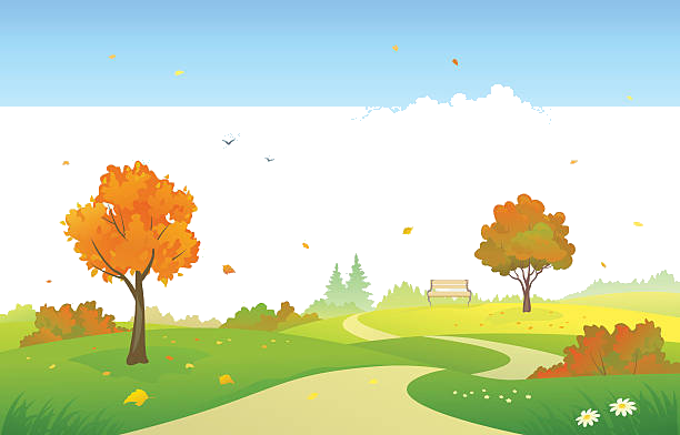 Park clipart fall. Graphics illustrations free on