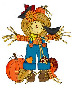 Scarecrow clipart thanksgiving. Free fall cliparts download