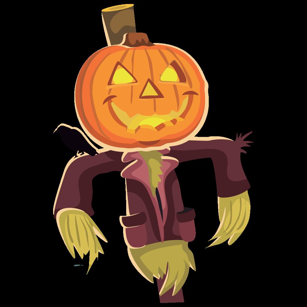 Clipart fall scarecrow. Clip art image clipartcow