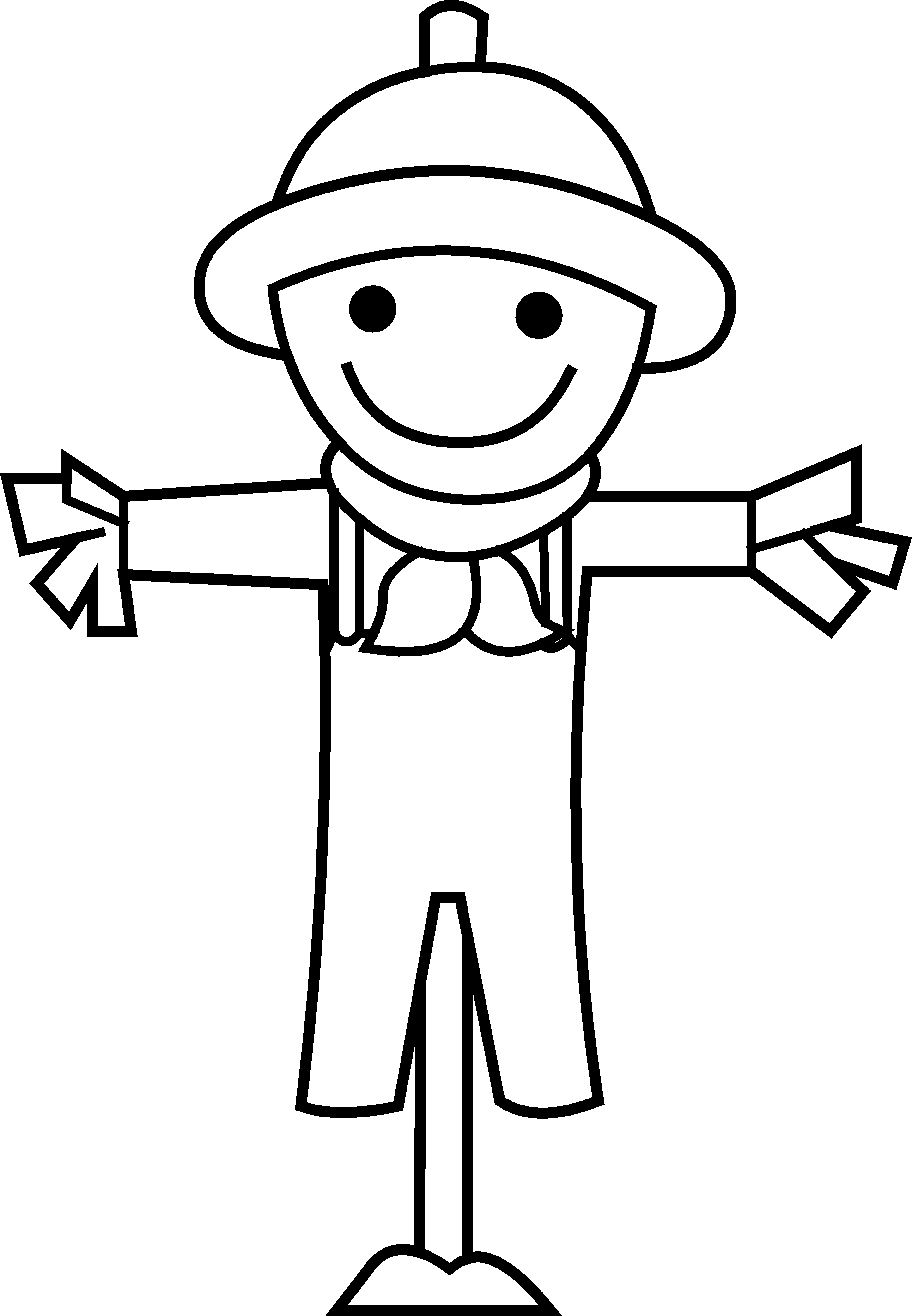 Scarecrow clipart scarecrow costume.  collection of face