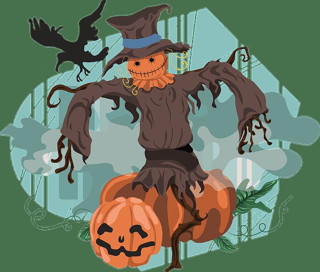 Friendly clipart scarecrow. Jokes fun kids about