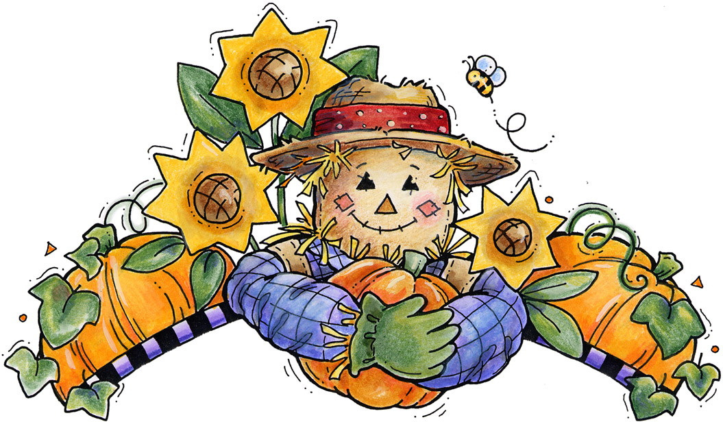 Free fall cliparts download. Scarecrow clipart thanksgiving
