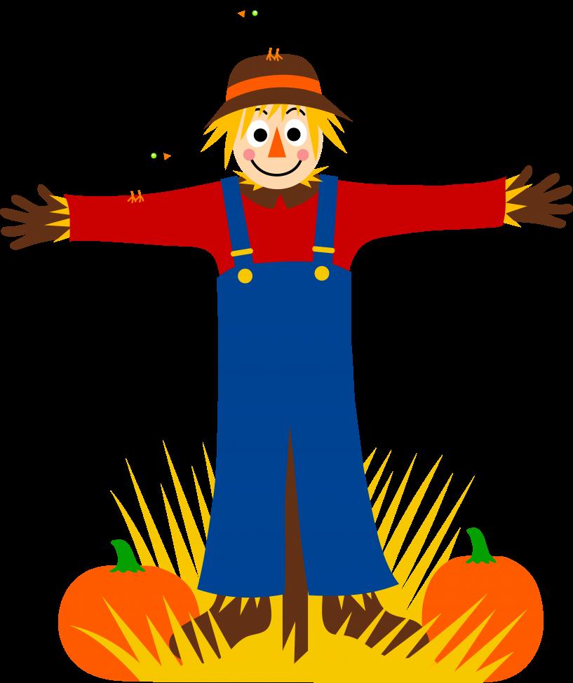 Scarecrow clipart family. Jokingart com