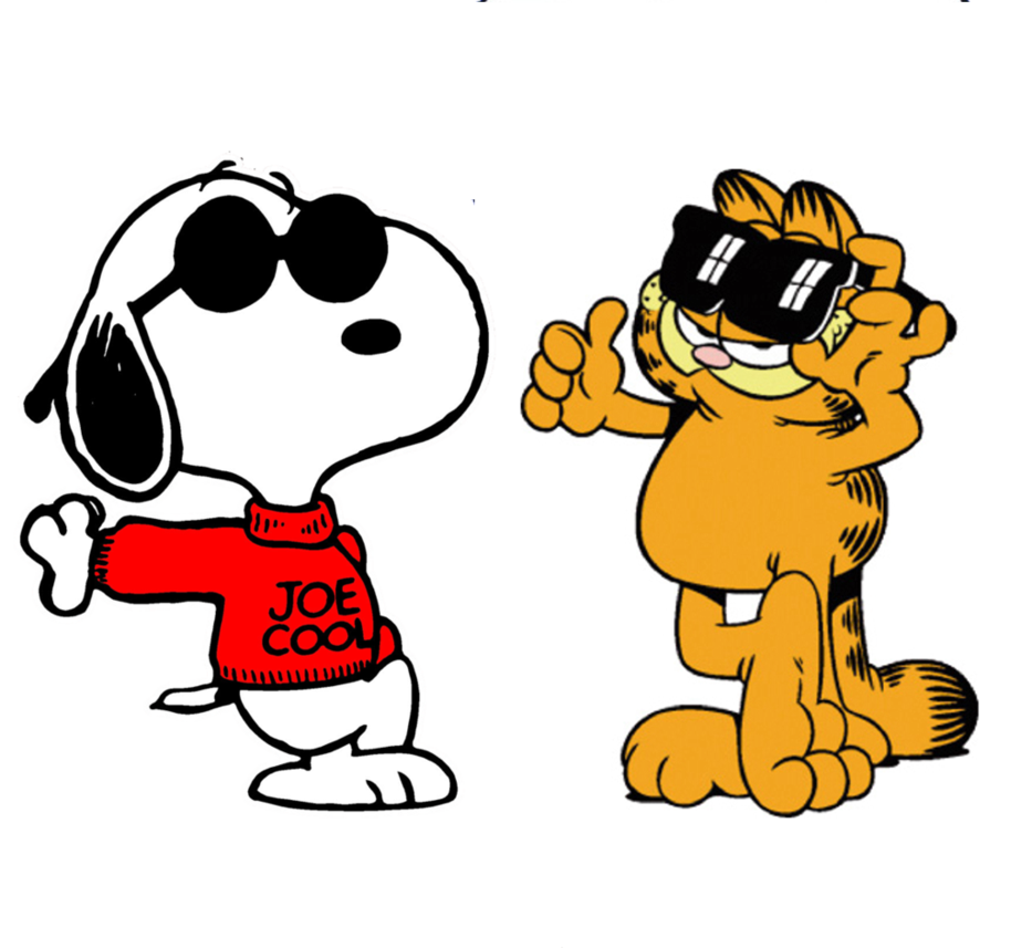 And garfield cool by. Wednesday clipart snoopy