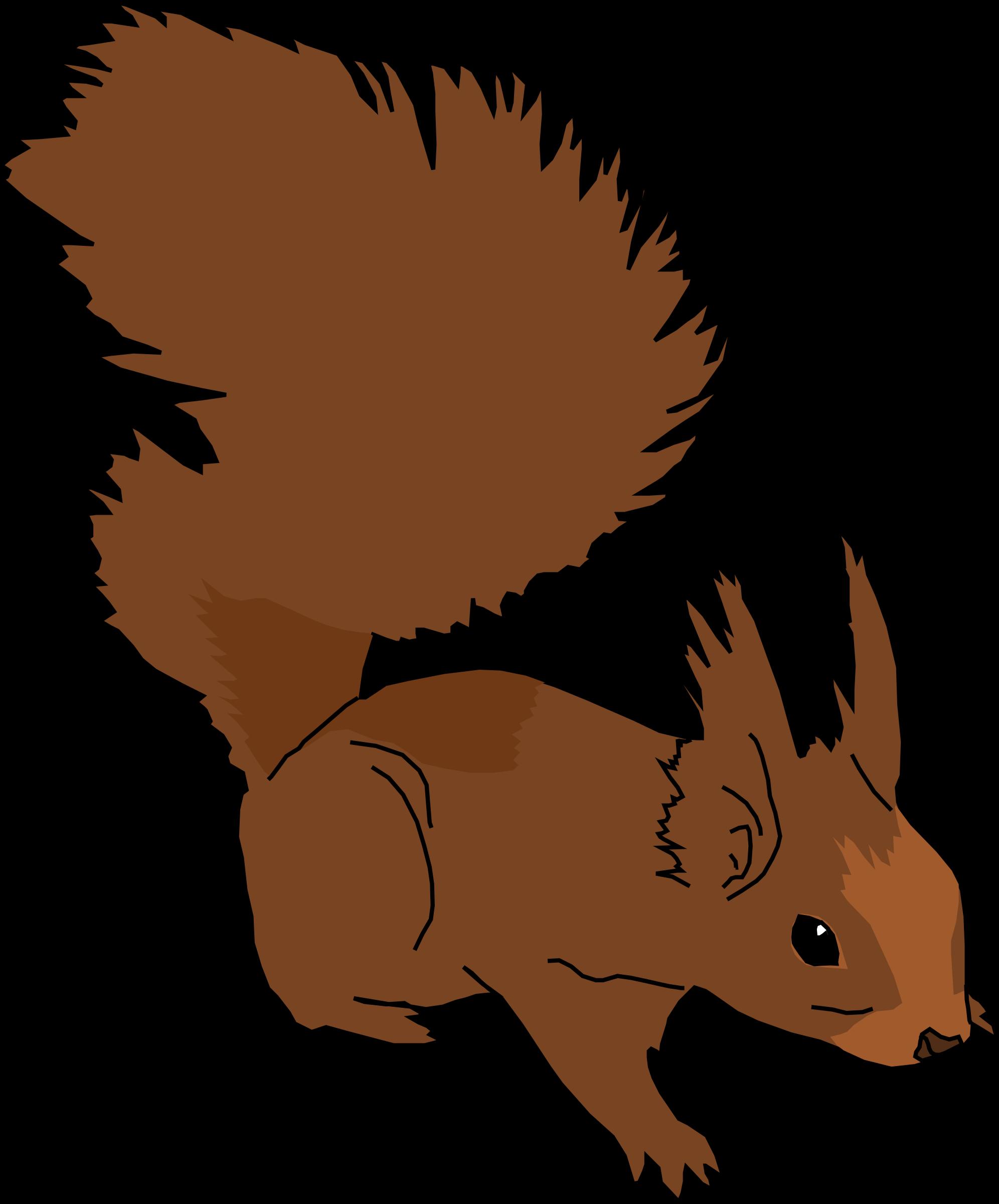 love clipart squirrel
