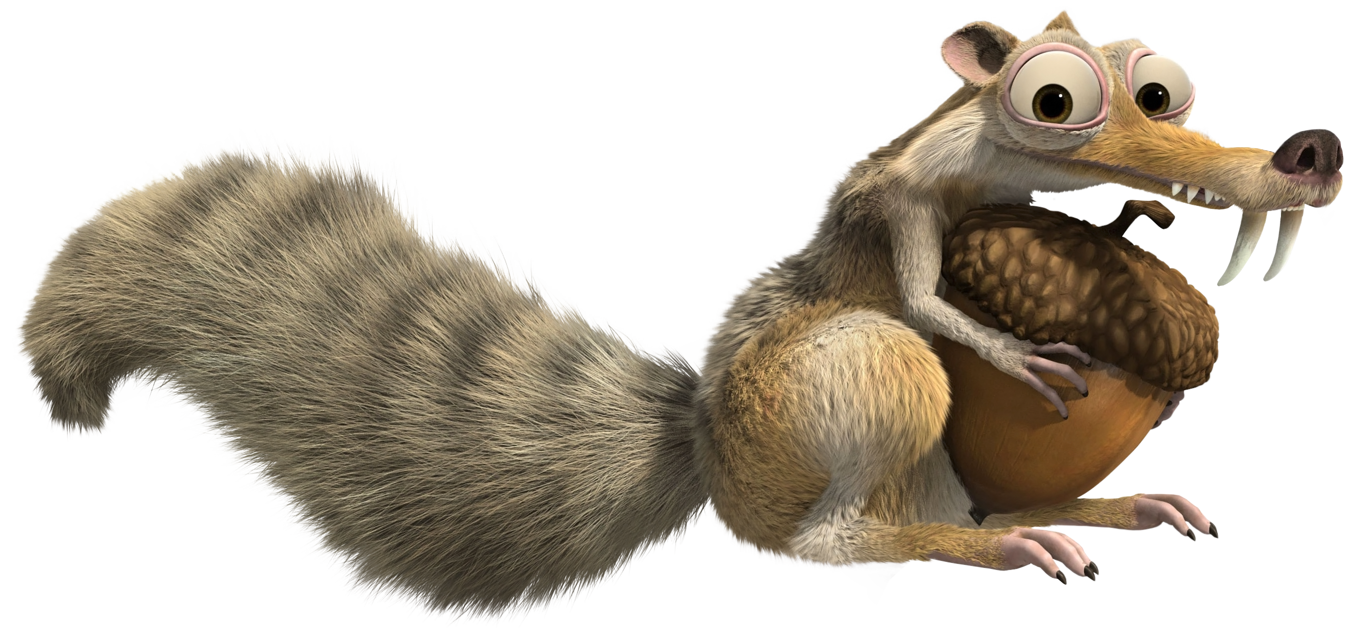 Otter clipart ice age. Scrat squirrel transparent png