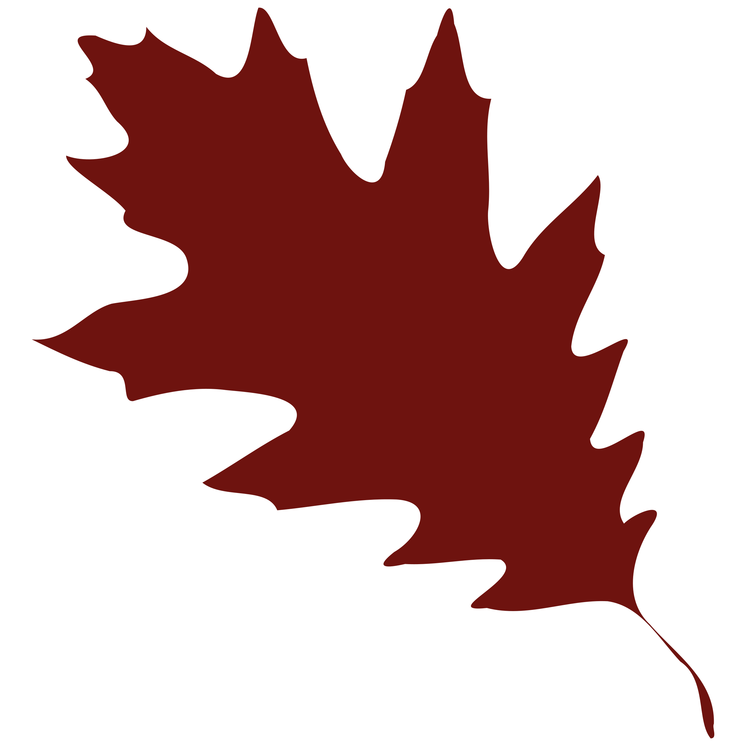 Oak leaves clip art. Fall clipart maple tree