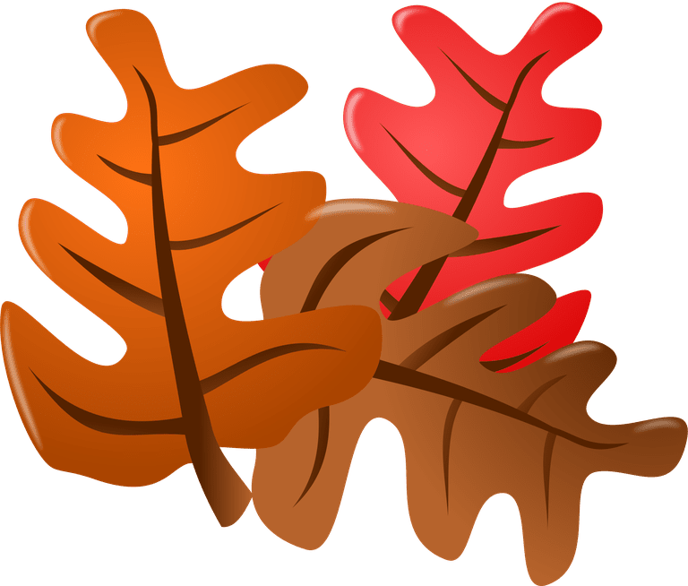 Corner clipart thanksgiving. Leaves at getdrawings com