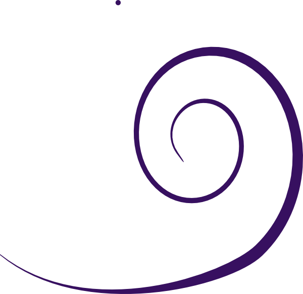 Plain purple clip art. Color clipart swirl