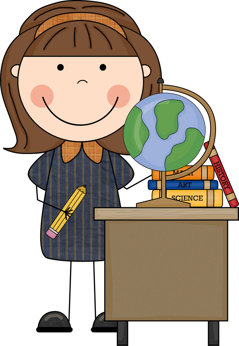Fall student blog teaching. Lady clipart professor