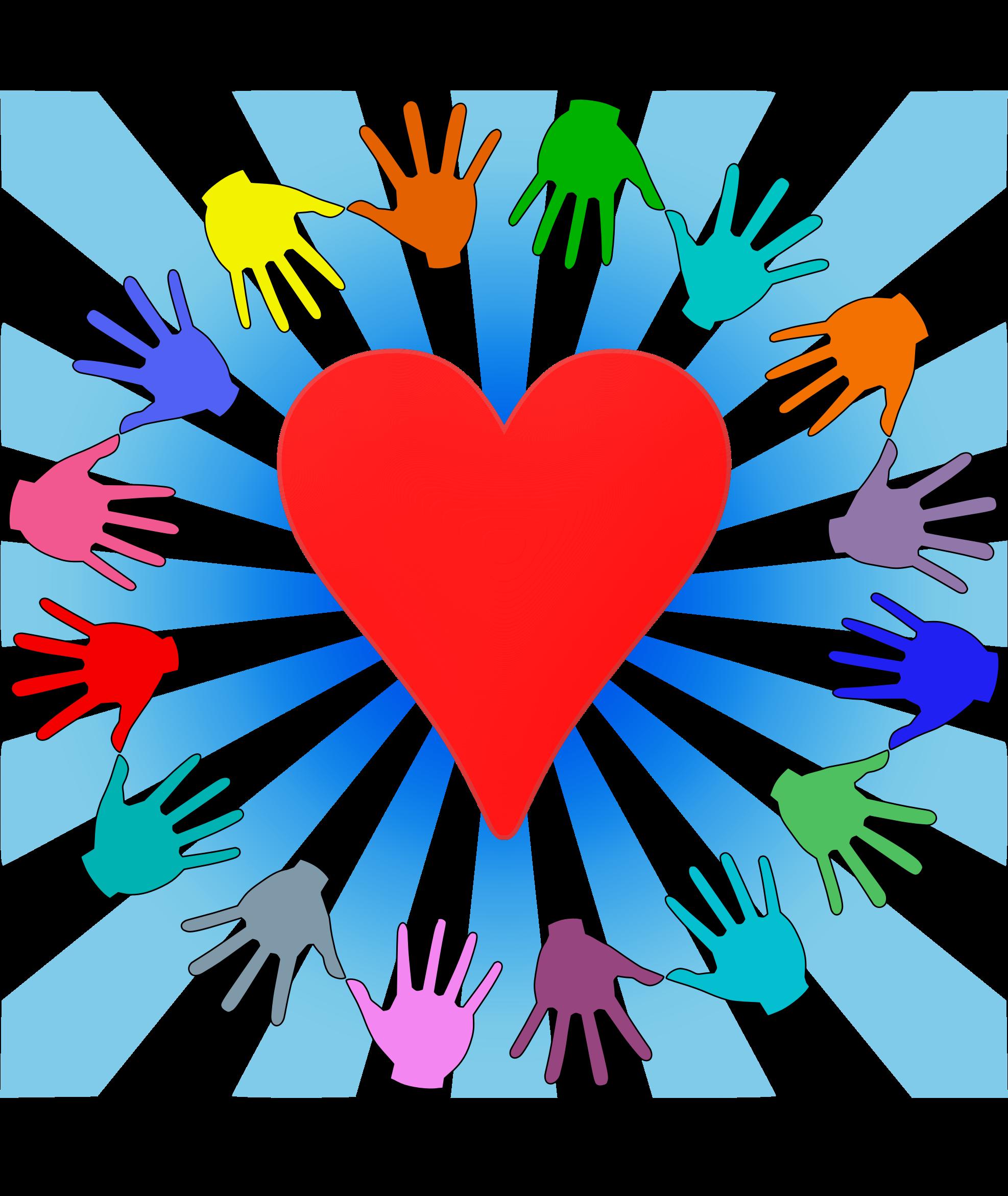 Kind volunteers big image. Volunteering clipart music