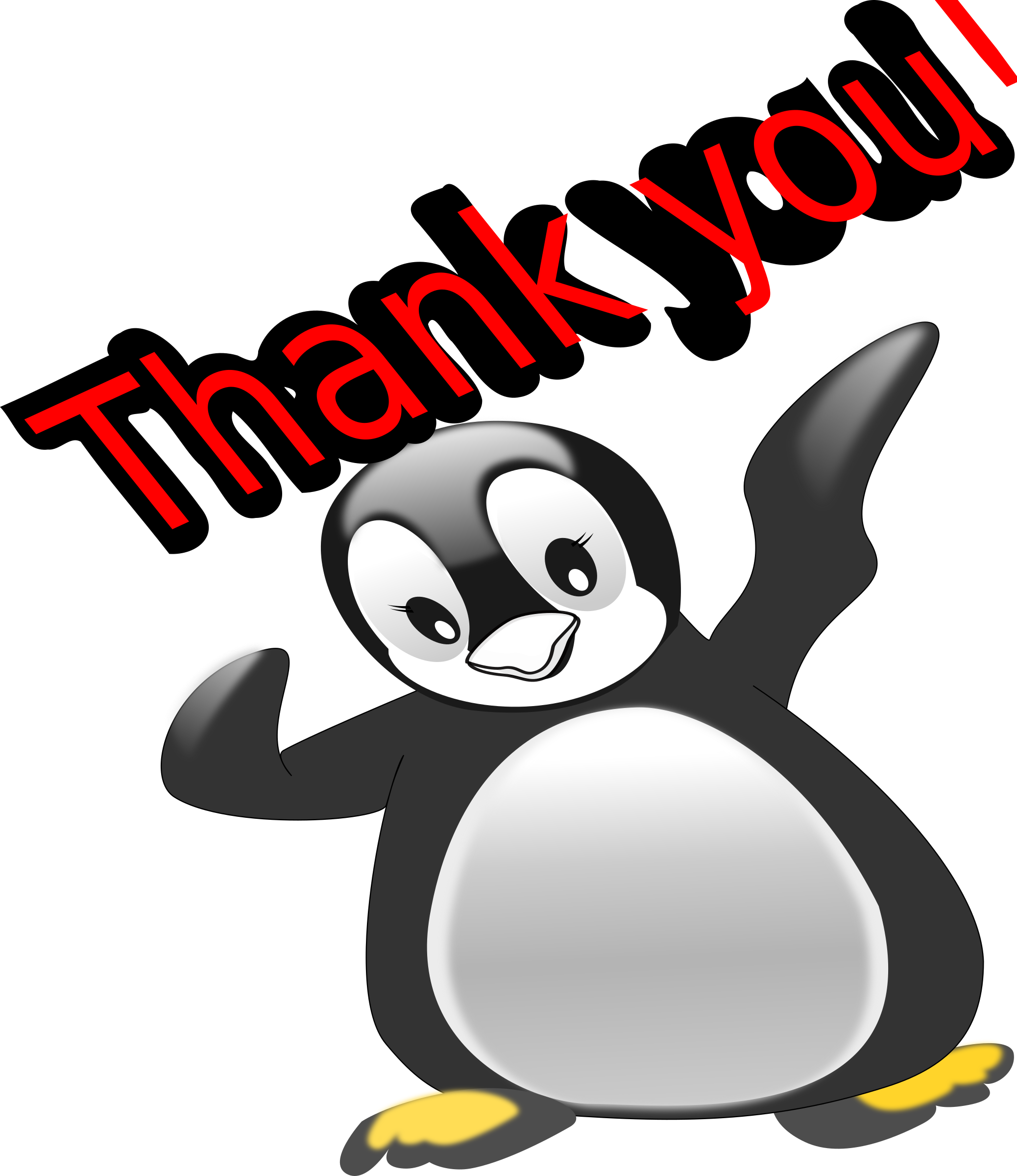 Penquin thank you