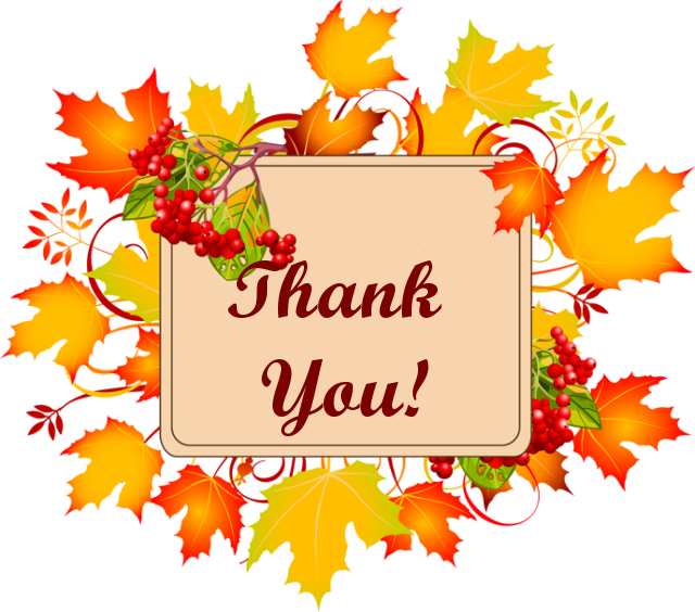 Thanks clipart autumn.  collection of fall