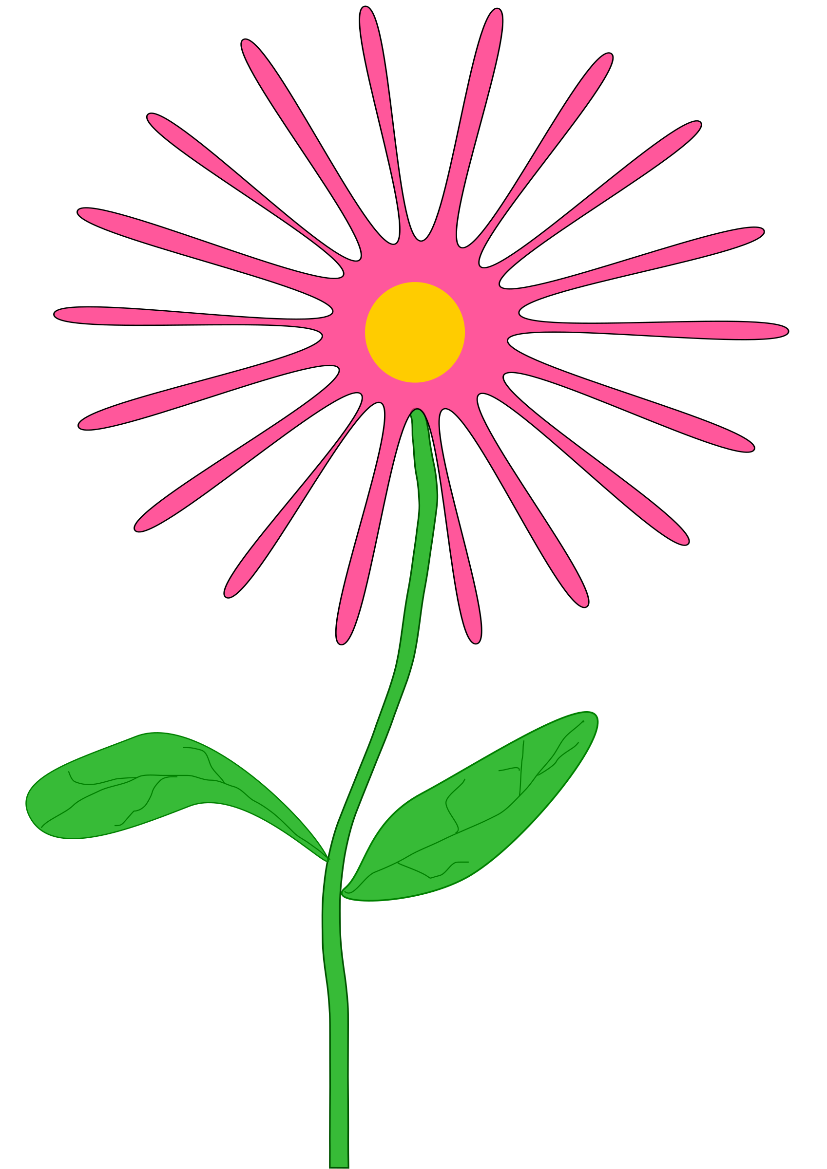 Clipart fall whimsical. Pink flower big image