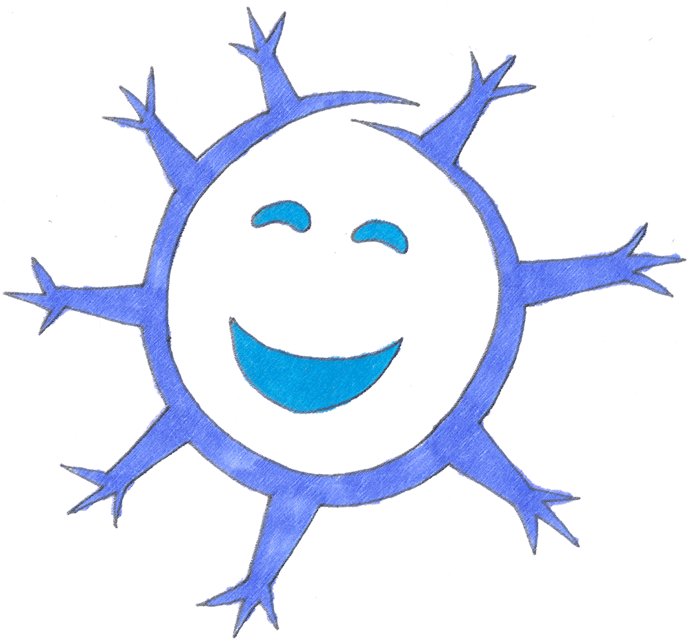 A perfect world clip. Clipart smile snowflake