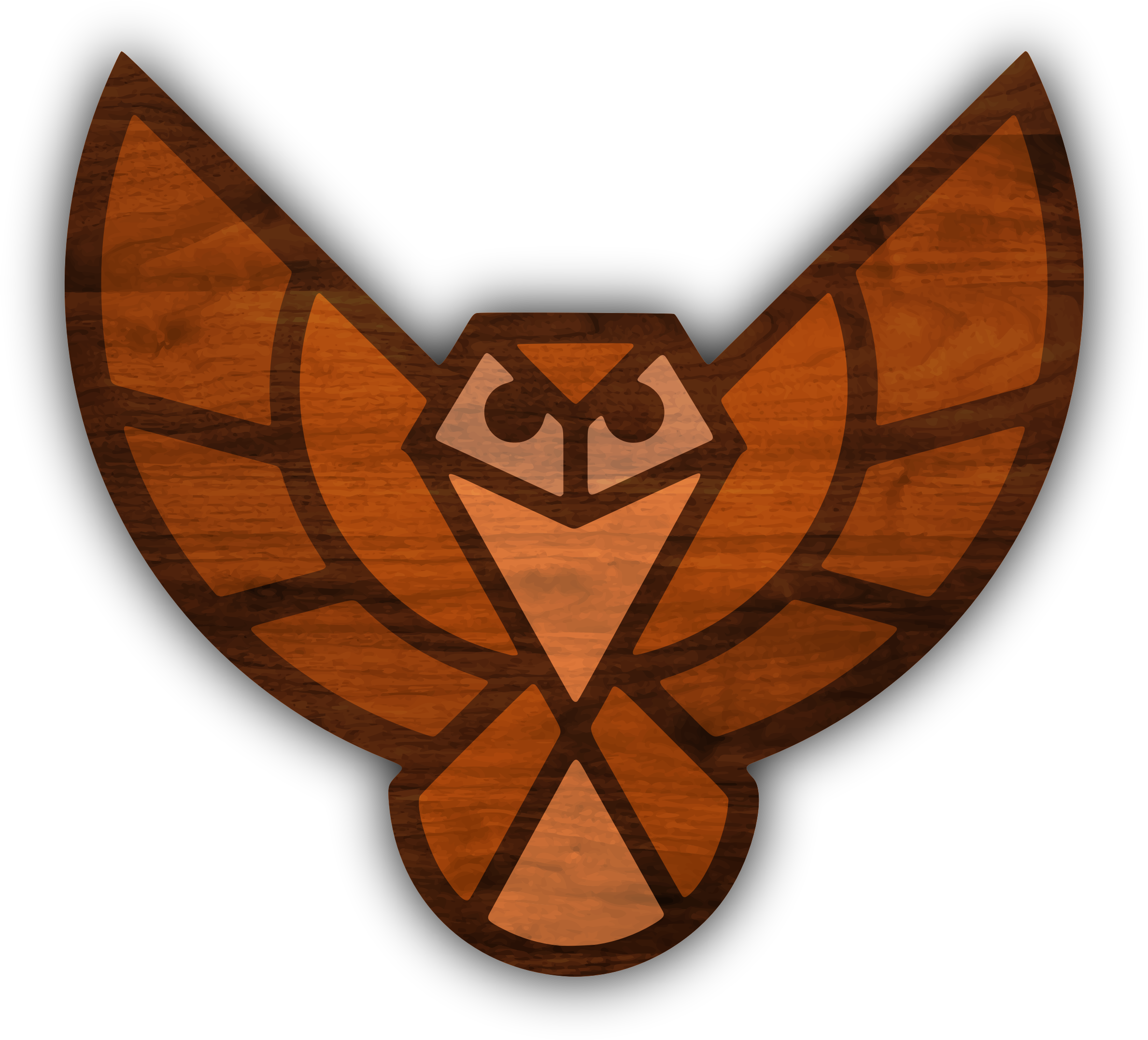 Wood texture owl no. Clipart fall woods