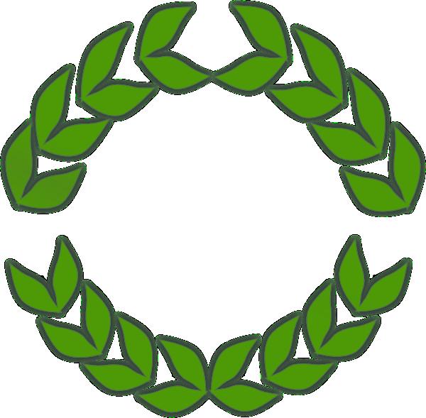 Clip art at clker. Greek clipart laurel wreath